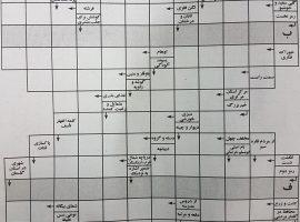 جدول درس یک ش۱